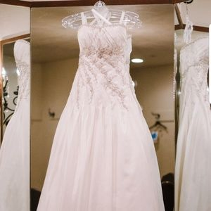 Private collection wedding dress